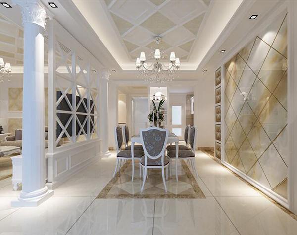 【株洲苹果装饰官网】简欧式风格是传统欧式风格结合现代生活理念而产生的一种风格,它旨在营造浪漫、休闲、大气的氛围,可谓是一个兼具美观与人性化的装修风格。  1. 材质选择 简欧式风格家装与传统欧式风格的奢华大相径庭,它更崇尚自然清新,所以在家装材料的选择上多运用自然元素。在地板的选择上,多用木质地板或素雅的石料地板;墙面用优质的白色乳胶漆即可,如果是墙纸则用素雅的纯色系列;家具多选择优质的木质材质,但是在造型上会多有一些现代创意;沙发一般会选用简约的纯色布艺沙发。  2.